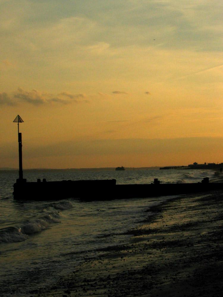 Die Stille am Meer