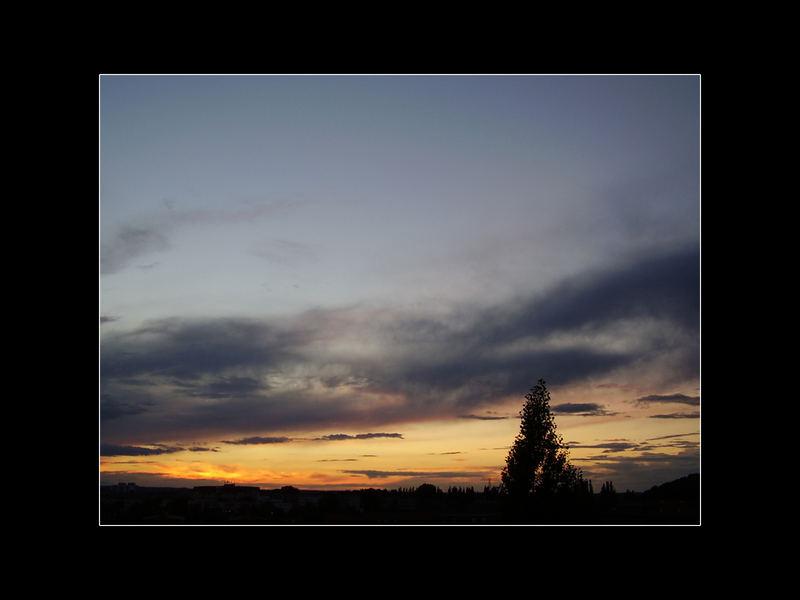 Die Stille mit dem Abend