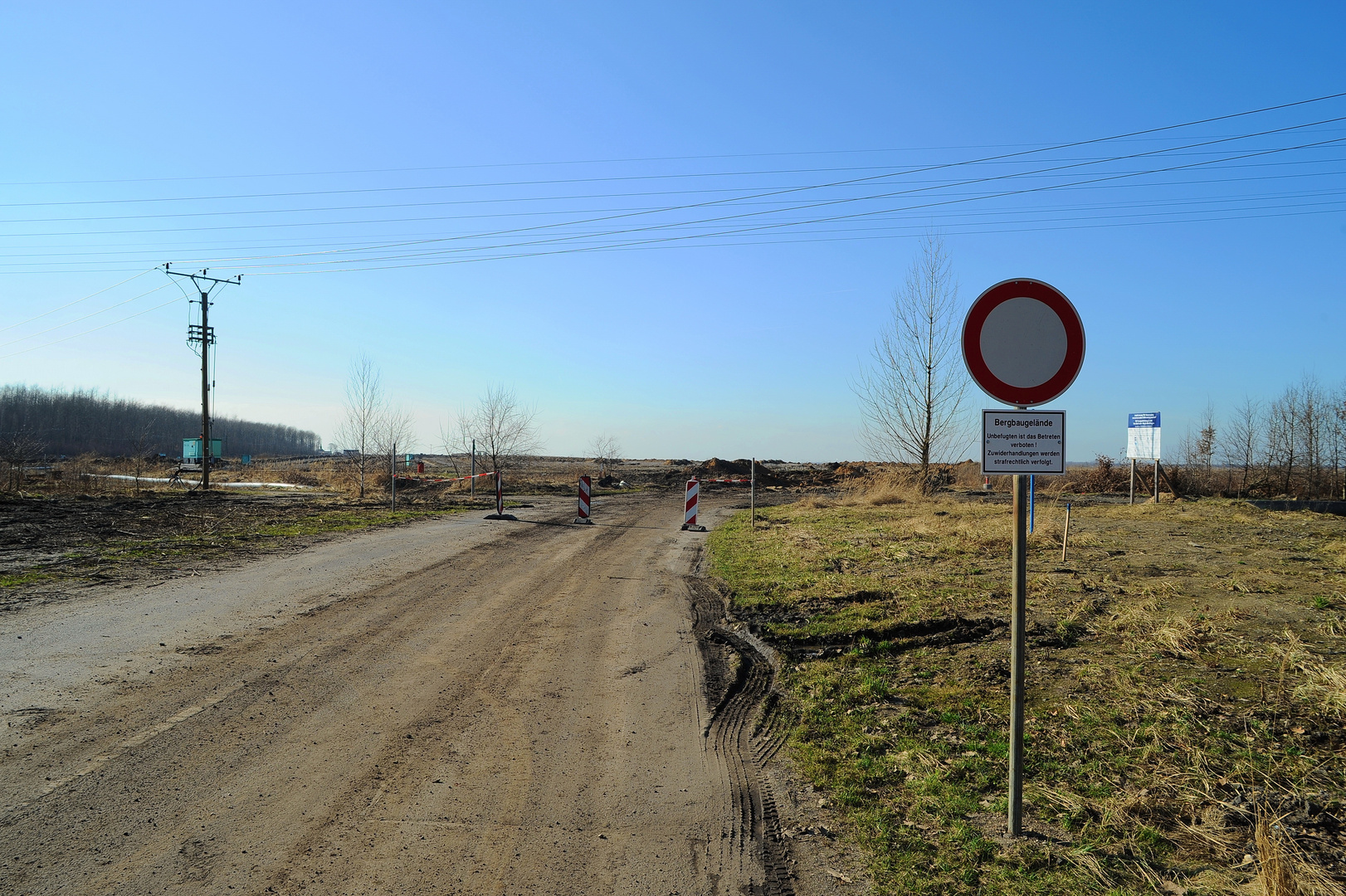 Die Straße nach Heuersdorf