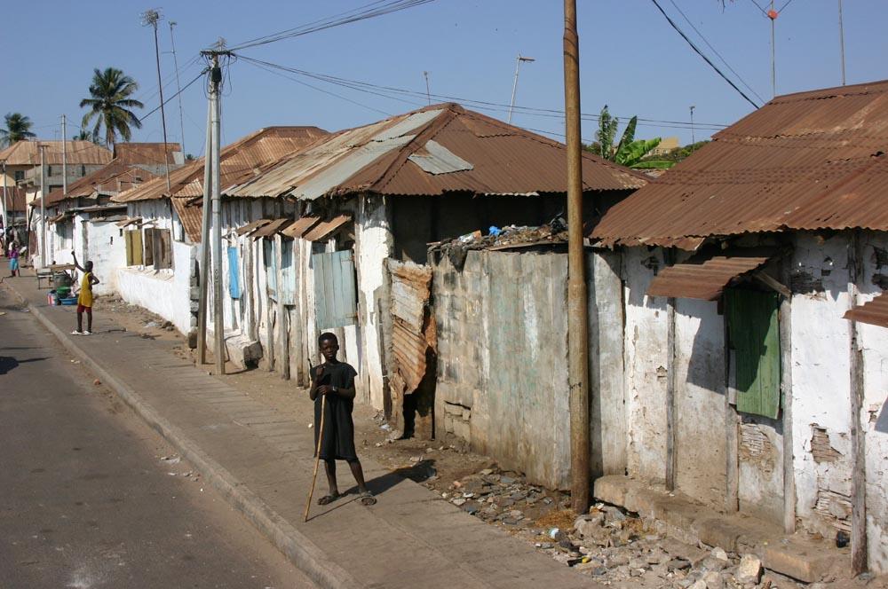 Die Strassen von Banjul