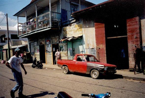 Die Strassen von Puerto Plata