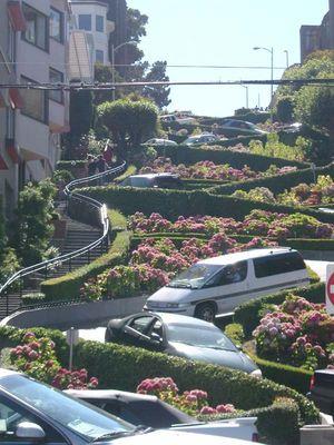Die Strassen von San Francisco - Lombard Street