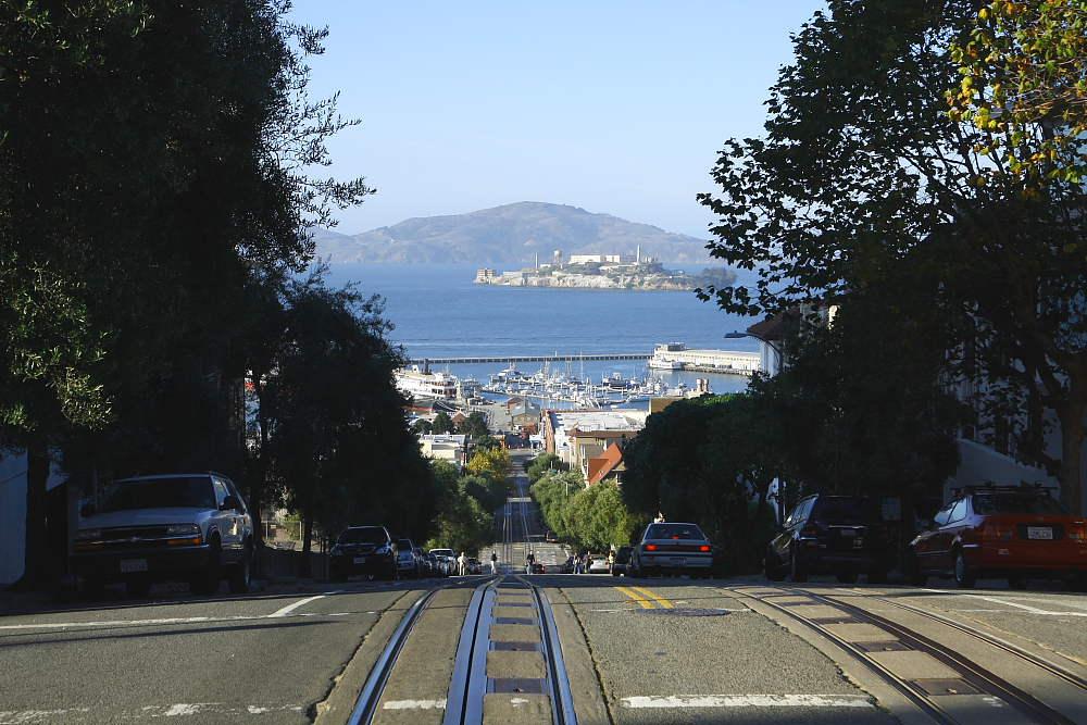 Die Straßen von San Fransisco