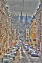 Die Straßen von Wuppertal