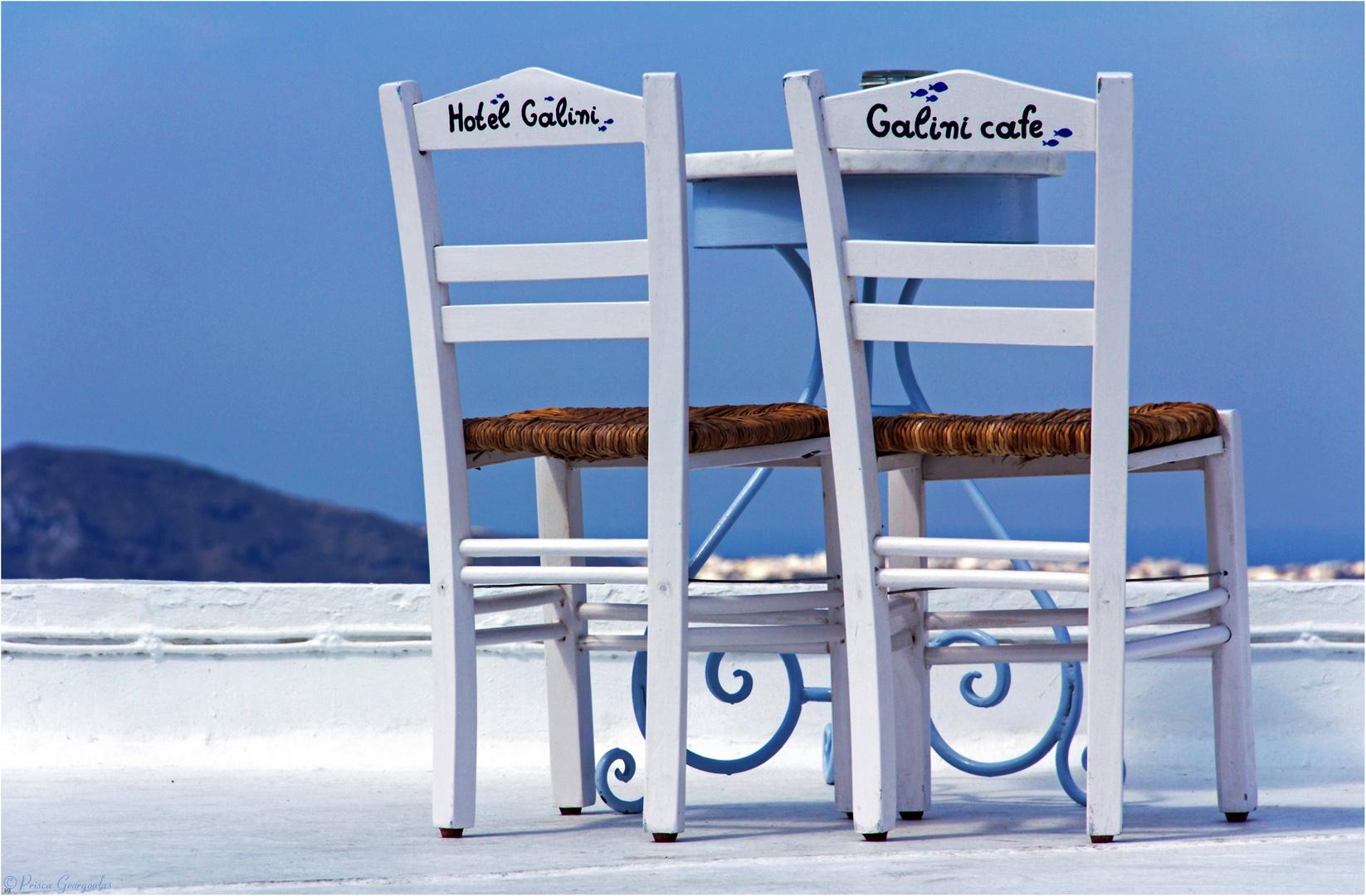 Die Stühle ...