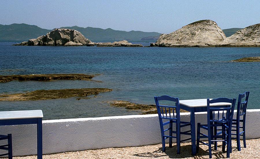 Die Stühle ... wer würde da nicht gerne sitzen ?