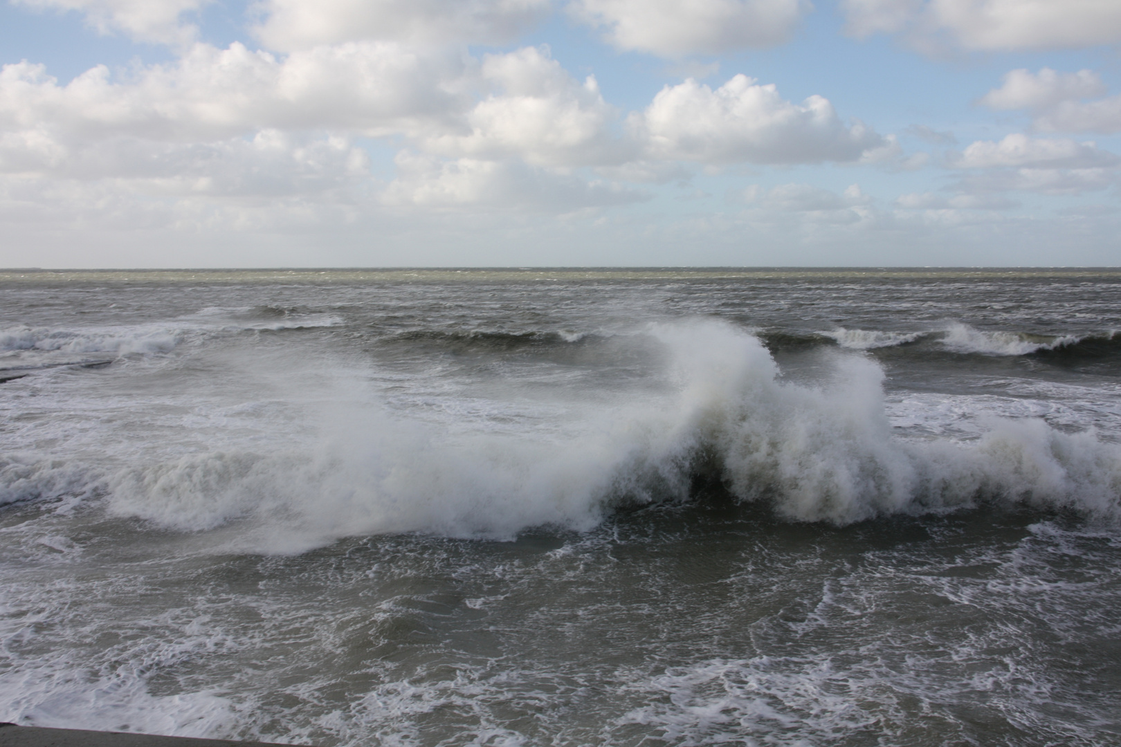 Die stürmische Nordsee