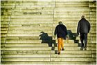 Die Stufen nach oben
