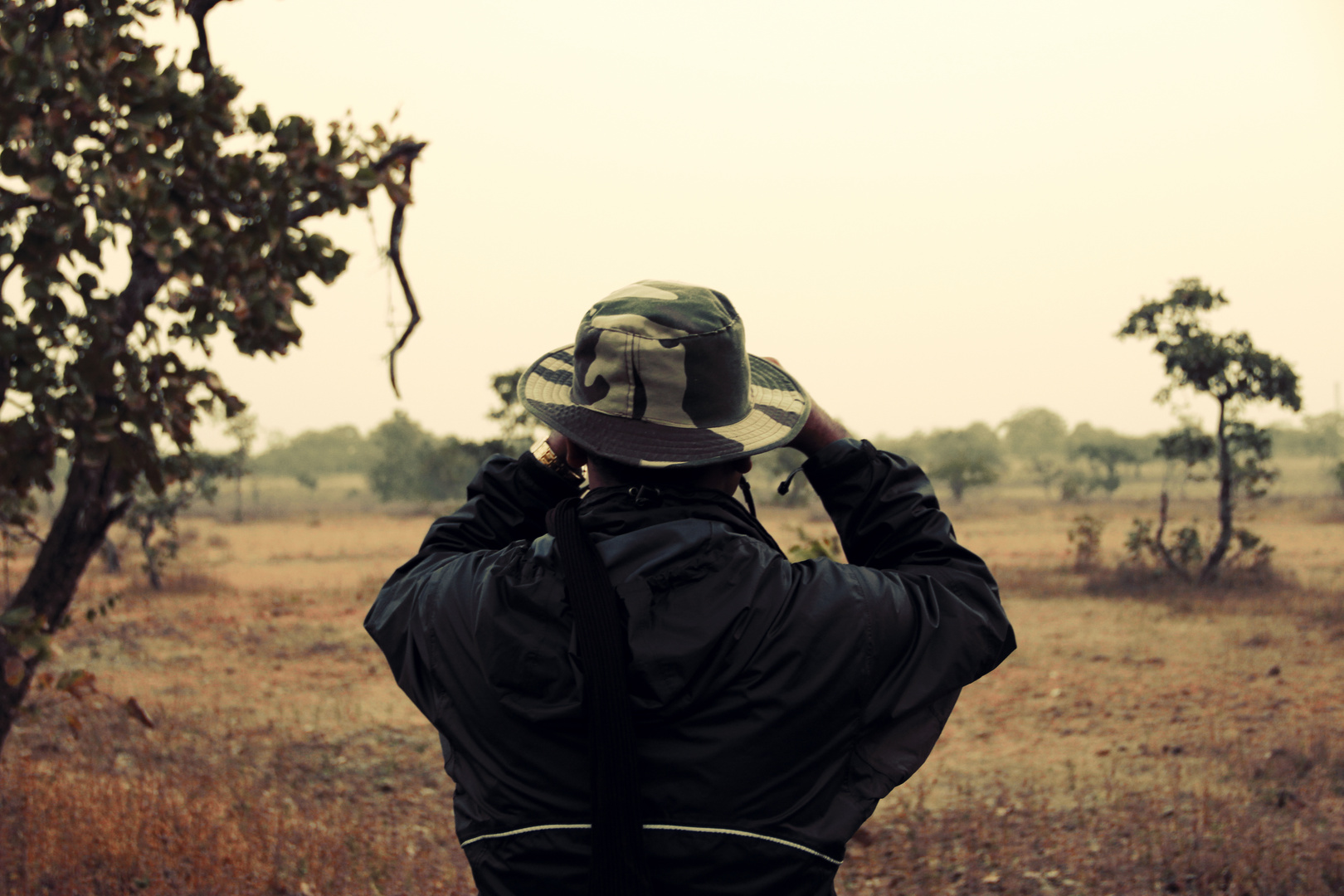 Die Suche nach dem Ziel in der gähnenden Leere