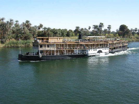 Die Sudan (Tod auf dem Nil) Richtung Luxor