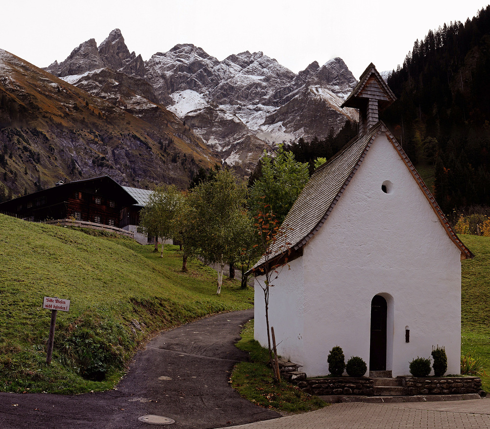 Die südlichste Kapelle Deutschlands!