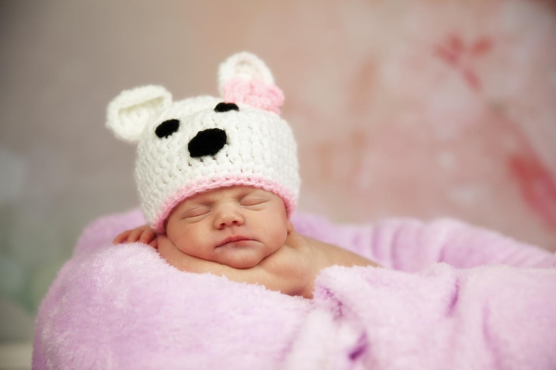 Die süße kleine Leonie Sophie, 1 Woche alt