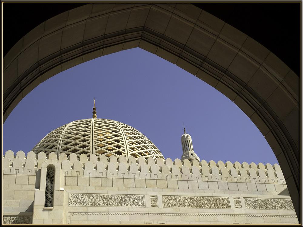 Die Sultan Qaboos Grand Mosque
