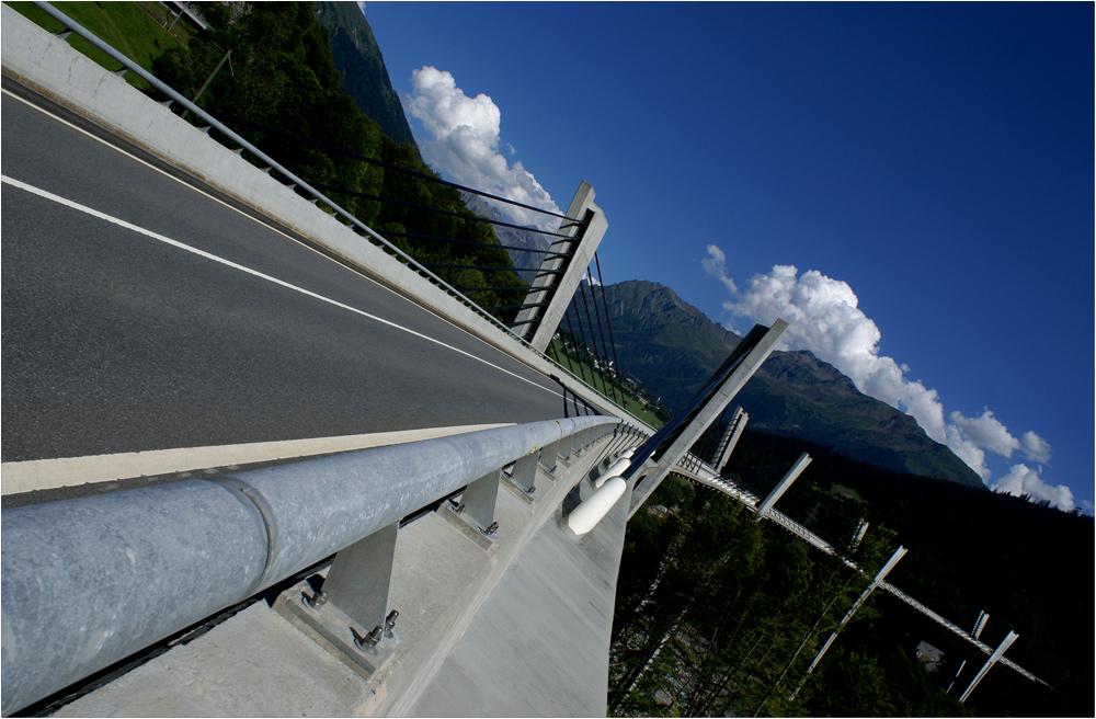 Die Sunnibergbrücke