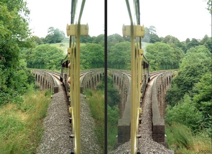 Die Symmetrie der Dampfbahn