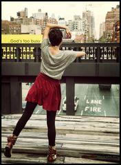 Die Tänzerin vom High Line Park