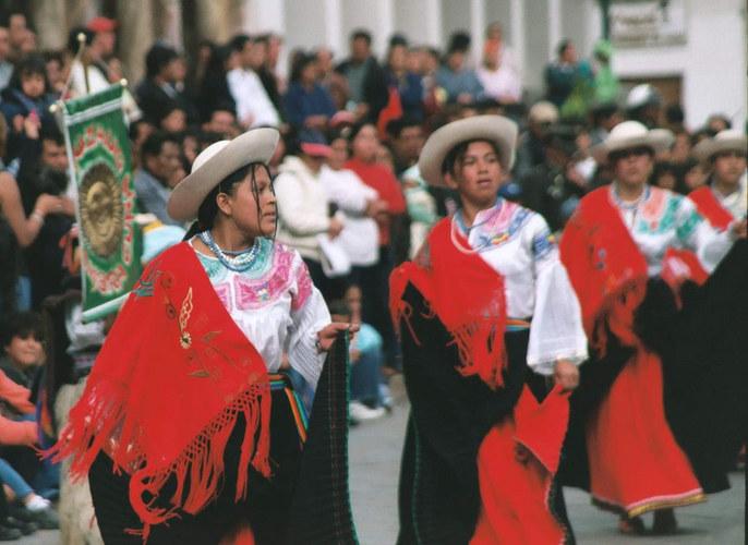 Die tanzende Indigena...