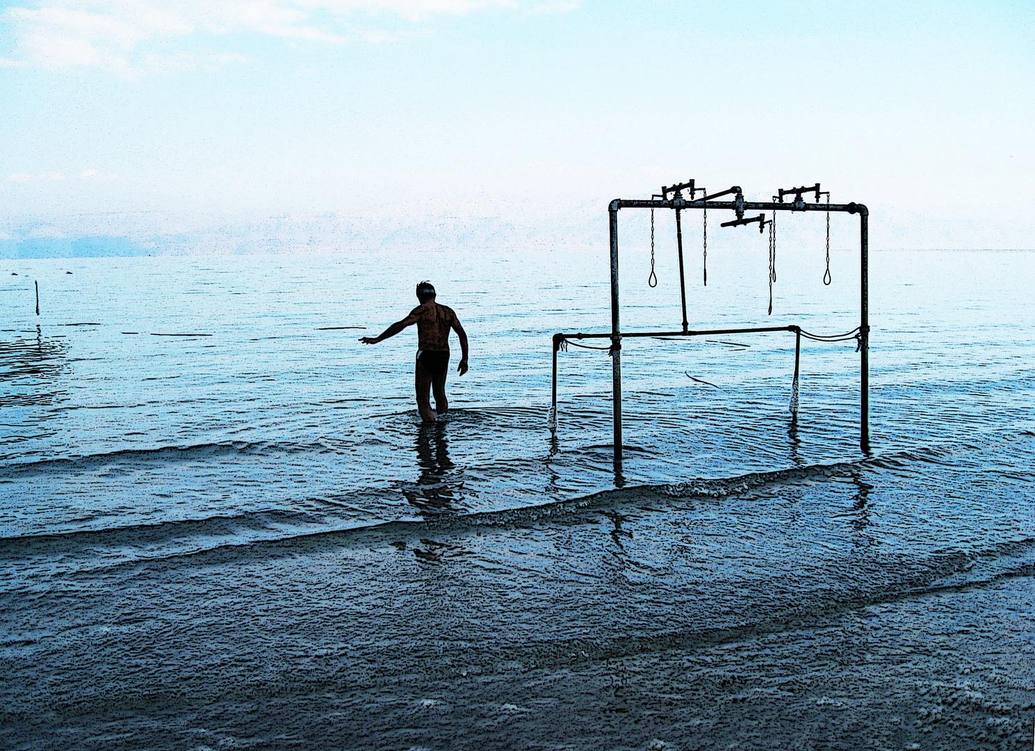 Die tiefste Dusche der Welt