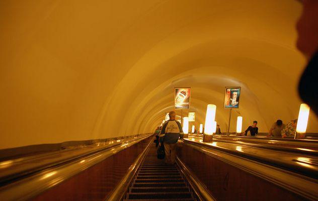 Die tiefste U-Bahn der Welt...