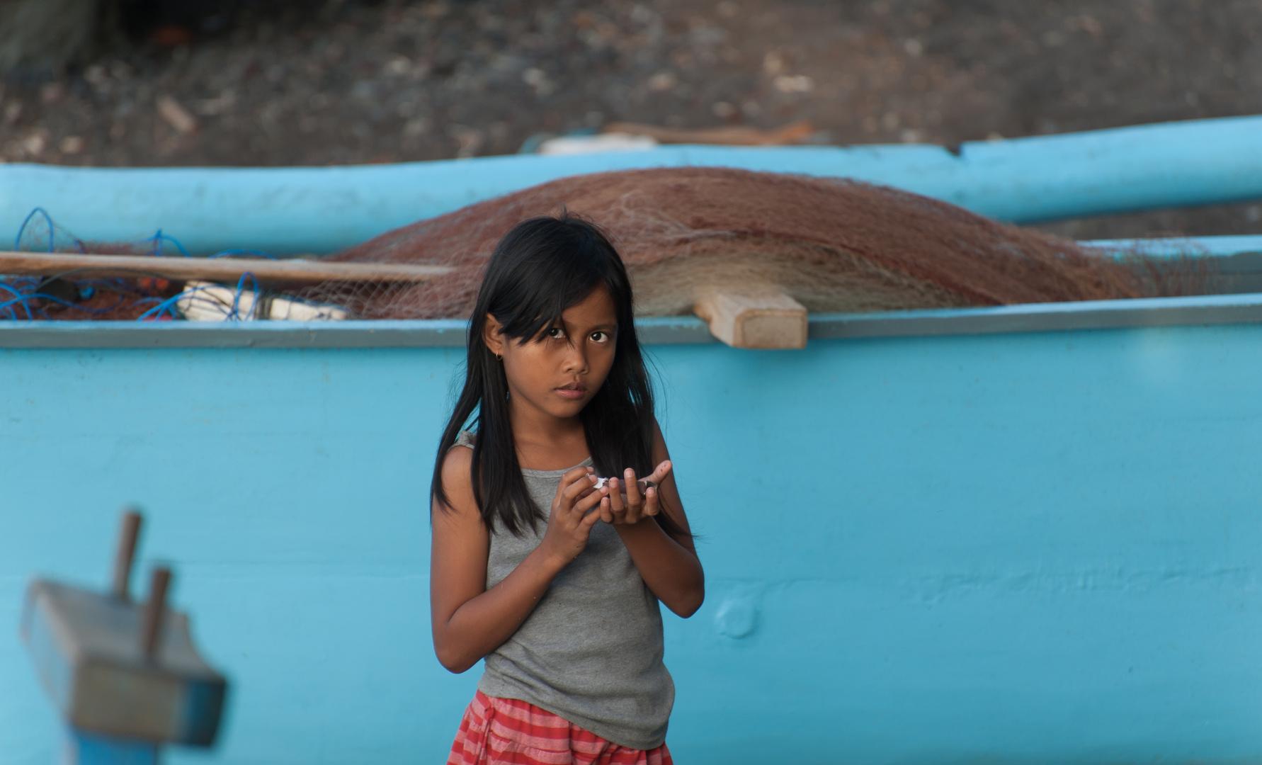 Die Tochter des Fischers.