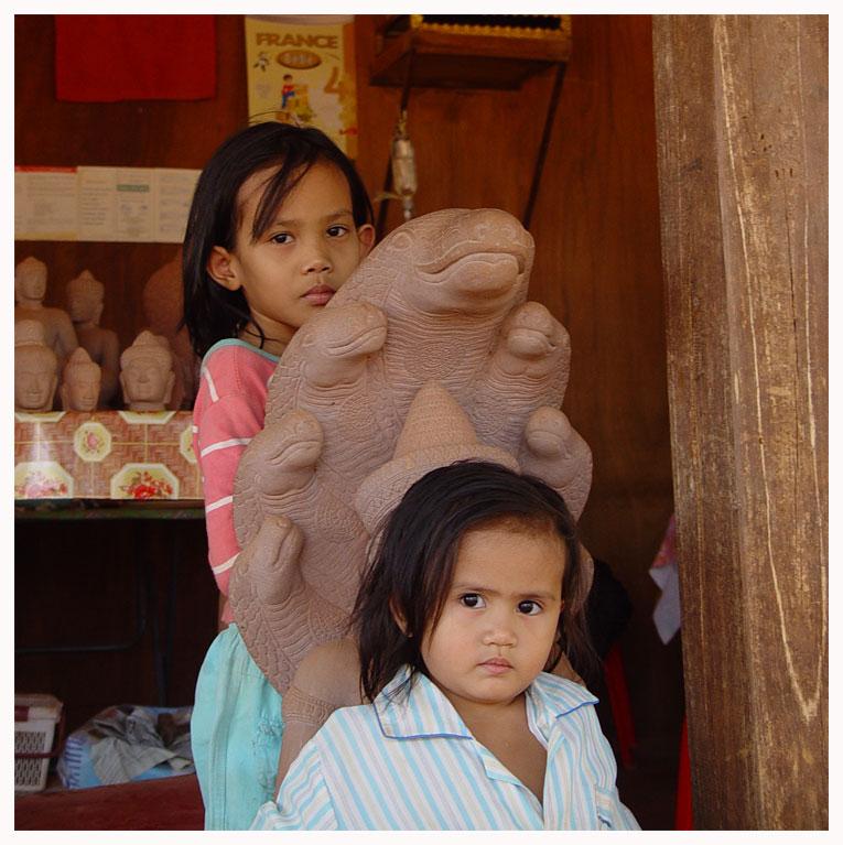 Die Töchter des Steinmetzes - Siem Reap - Kambodscha