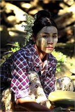 Die Töpferin (Myanmar)