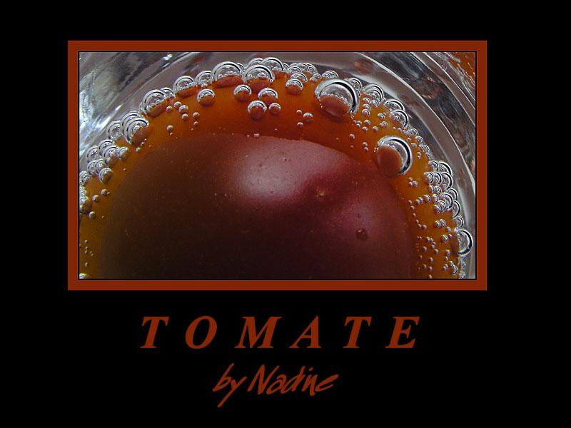 Die Tomate im Schnapsglas
