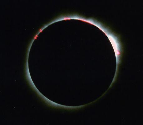Die totale Sonnenfinsternis vom 21. Juni 2001