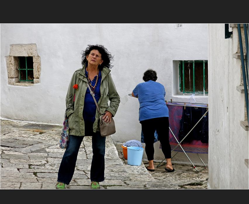 Die Touristin und die Hausfrau