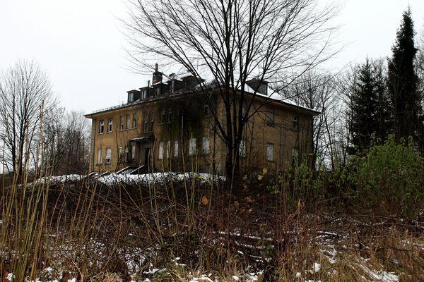 Die traurige Villa.......