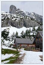 Die Traweng-Hütte...