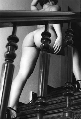 ...die Treppe...