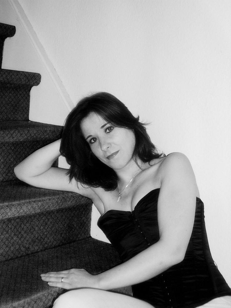 ....die Treppe....