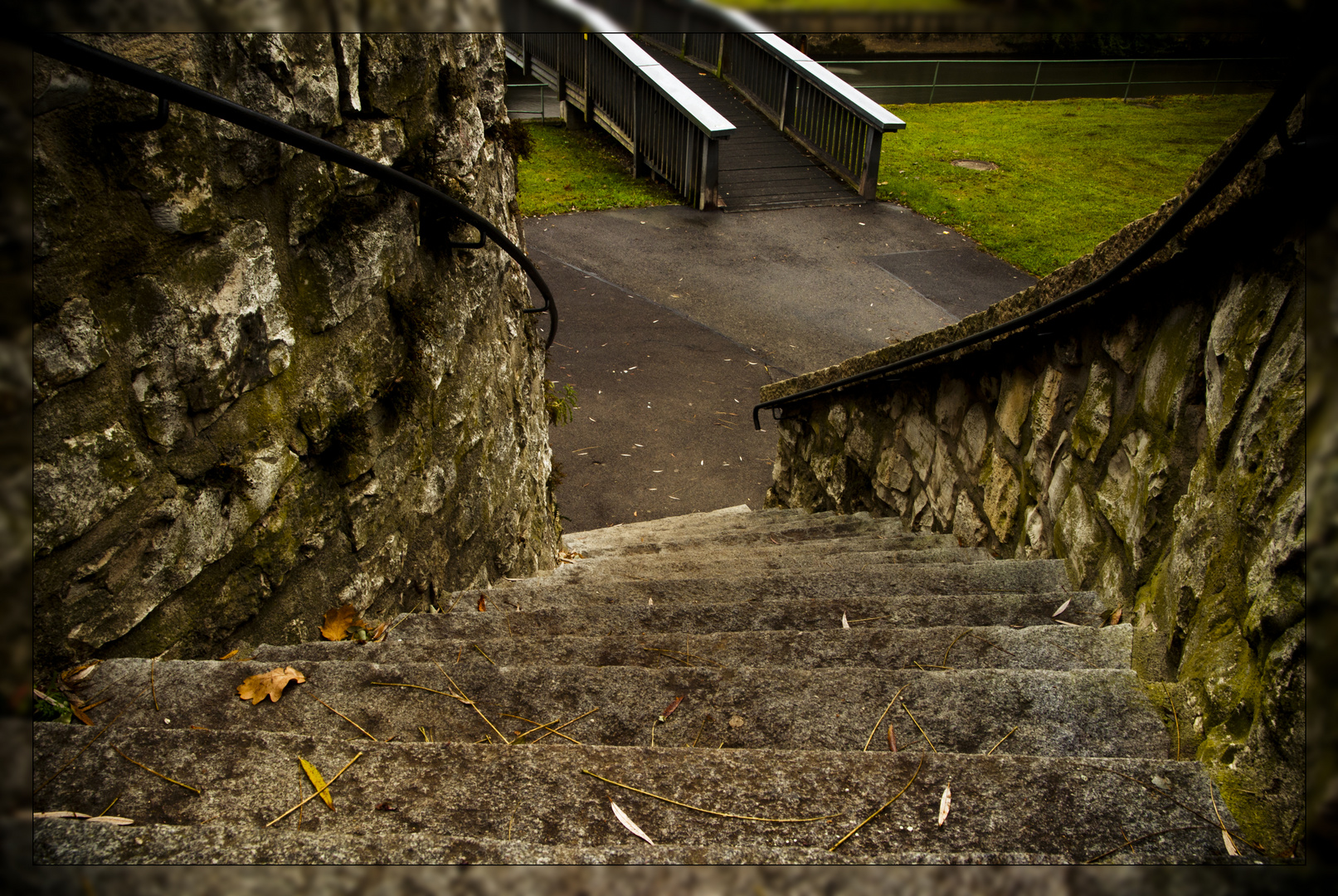 Die Treppe der Ungewissheit