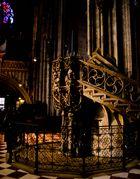 ...die Treppe im Stephansdom