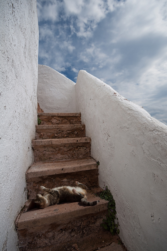 Die Treppe in Cala Figuera