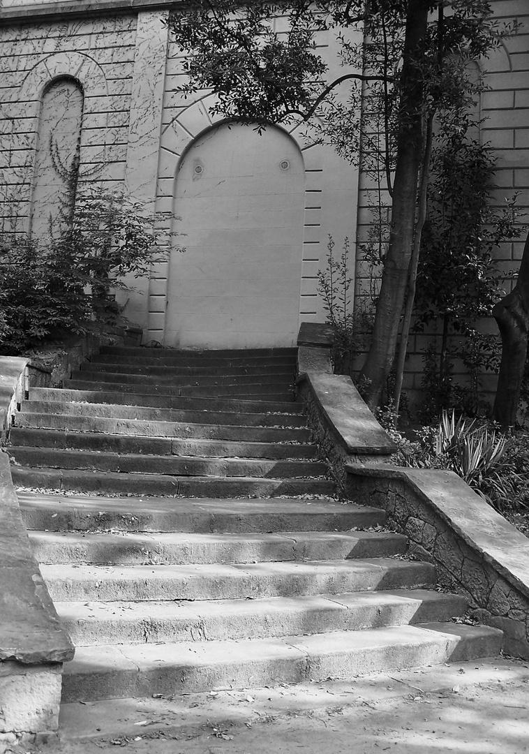 Die Treppe ins Nichts.......!!!