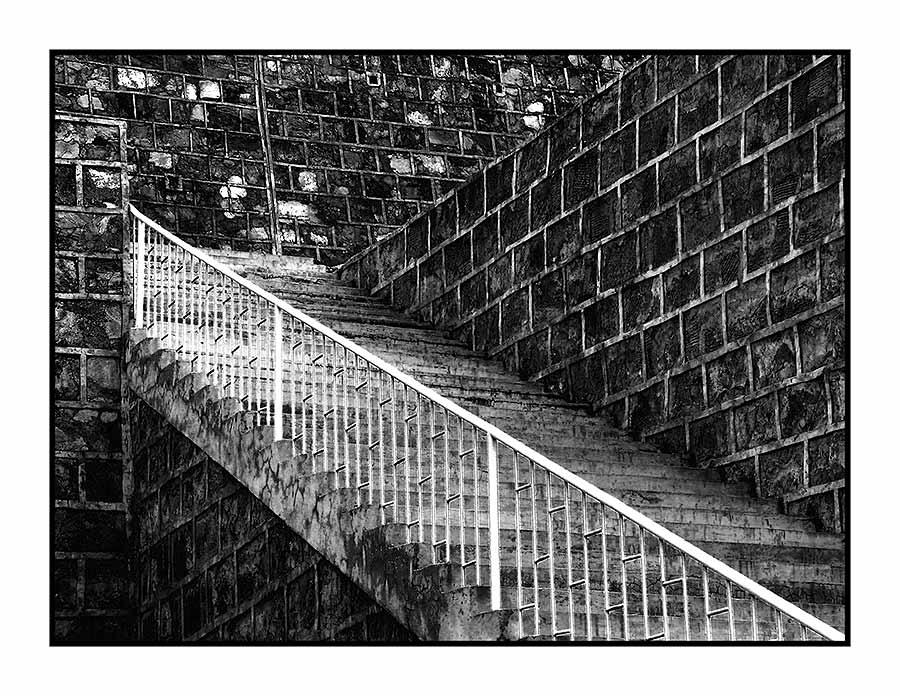 Die Treppe ins Nichts