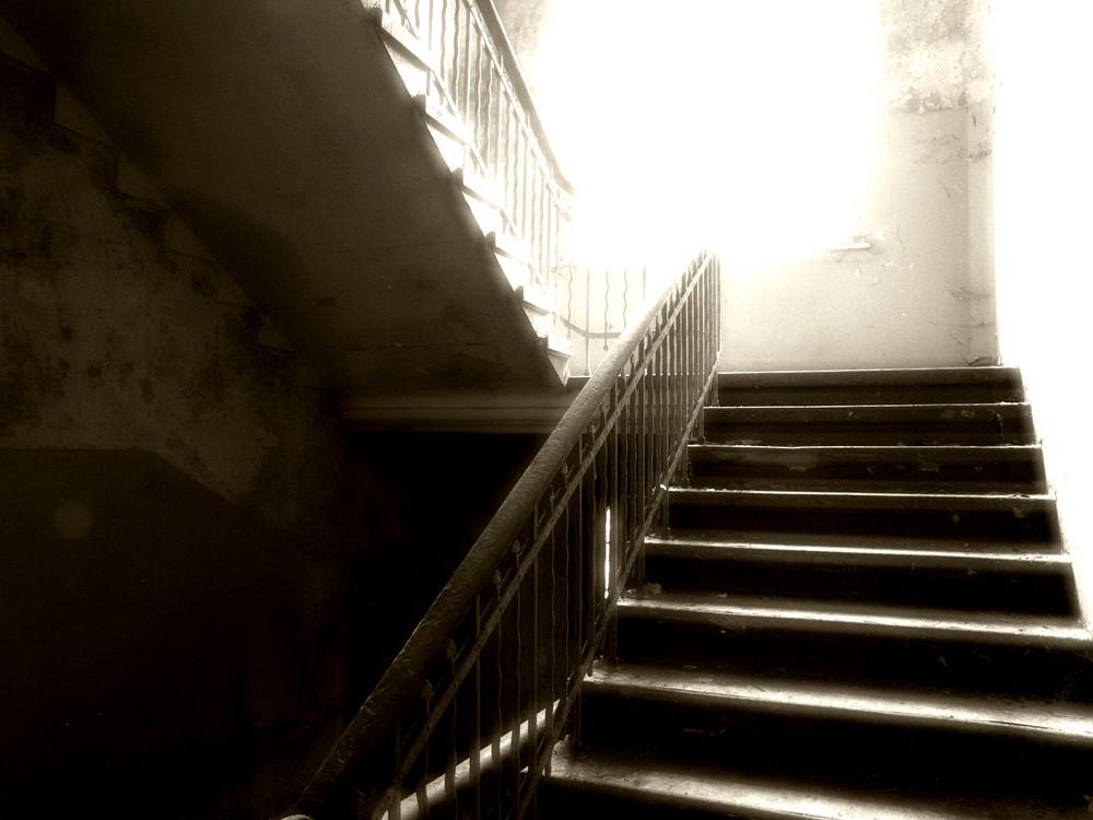 Die Treppe ins Verderben...