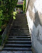 Die Treppe zur Engener Altstadt