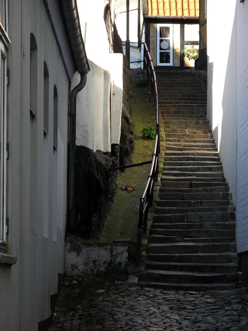 Die Treppe zur Schlei