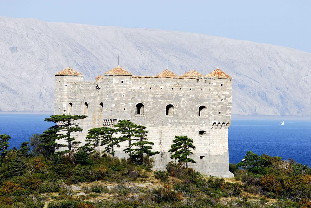 Die trutzige Burg der Uskoken in Senj