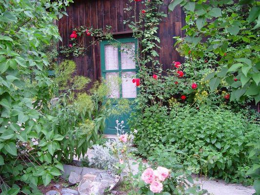 Die Tür ins Grün