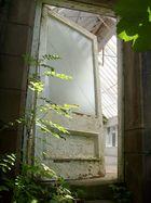 Die Tür ins ungewisse
