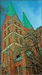 Die Türme der Marienkirche zu Lübeck
