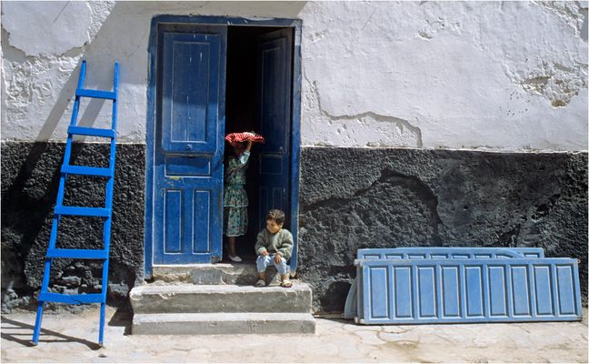 Die Türsteherin