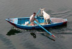 Die Überfahrt am Nil