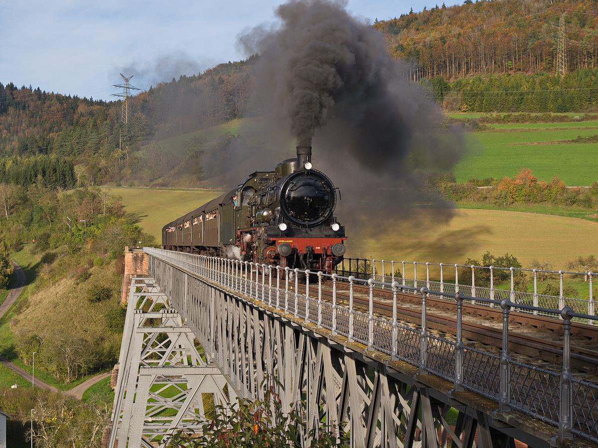 """...."""" die Unbeliebte """" Viadukt Epfenhofen"""