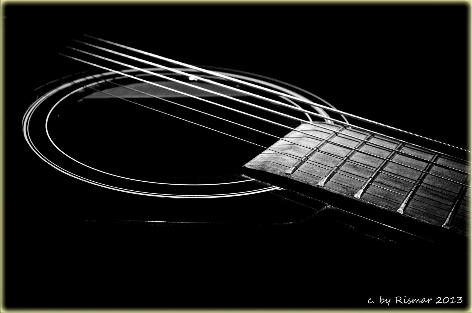 Die ungespielte Gitarre
