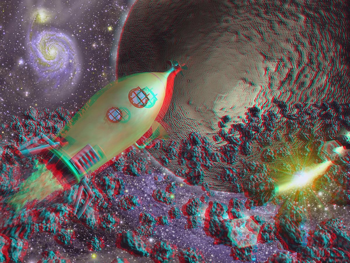 Die unglaubliche Reise zum Mond 3D